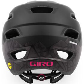 Giro Cartelle MIPS Cykelhjelm Damer, matte black/pink